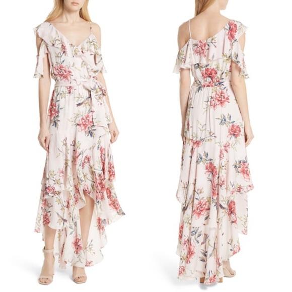 52c2a8077b7 Joie Cristeta Floral Silk Maxi Dress